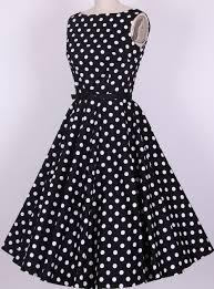 rockabilly pin up vintage dresses retro audrey dress knee length