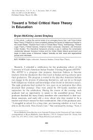 toward a tribal critical race theory in education pdf download
