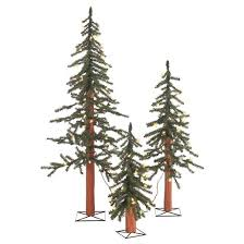 2 ft 3 ft 4 ft pre lit alpine spruce artificial tree