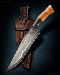 robert burns damascus camp knife ckca forums hunting gear