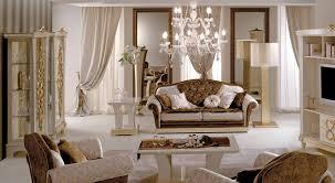 modern elegant great room furniture that has modern chandelier and