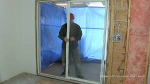 how to remove sliding patio doors youtube