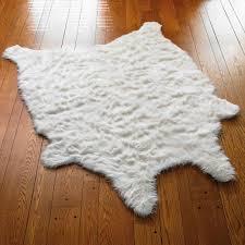 faux fur sheepskin rug grandin road