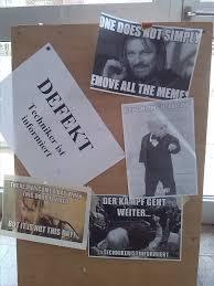 Door Meme - broken german door becomes a wall of memes pix i am bored