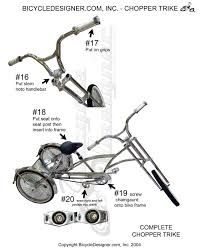 Radio Flyer 79 Big Front Wheel Chopper Trike Tricycle Chopper Bicycles Atomiczombie Bikes Recumbents Trikes