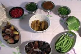 rosh hashanah seder plate the channel connect with your culture television