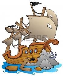 shipwreck clipart 11