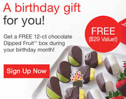 edibles arrangements free birthday gift from edible arrangements i crave freebies