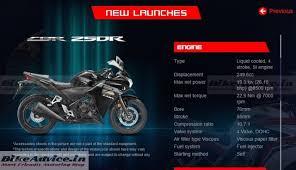 honda cbr150r mileage on road new 2015 honda cbr150r u0026 cbr250r unveiled launch by december