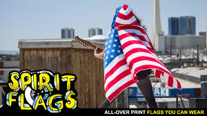All The States Flags Spiritflags Take Flight In The All Over Print Wearable Flag By