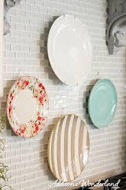 how to put up kitchen backsplash how to hang plates on kitchen backsplash 8 copy s
