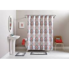 Bathroom Rug And Shower Curtain Sets Better Homes And Gardens Medallion 15 Bath Set Shower