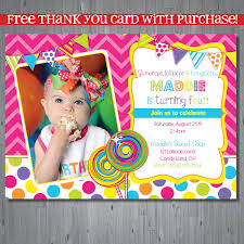 Where To Buy Birthday Invitation Cards Candy Shop Birthday Invitation Candy Shop Party By Abbyreesedesign