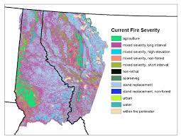 Idaho Fires Map Region 1 Geospatial Data