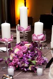 centerpieces with candles beautiful non floral wedding centerpieces the beauty of non