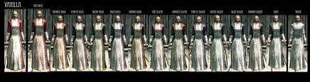wedding dress skyrim elaborate textiles elder scrolls skyrim clothing images page 4