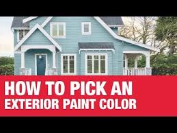 how to choose an exterior paint color ace hardware youtube