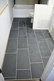 slate tile bathroom ideas best 25 12x24 tile ideas on bathroom tile designs
