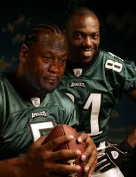 Terrell Owens Meme - donovan mcnabb crying michael jordan know your meme