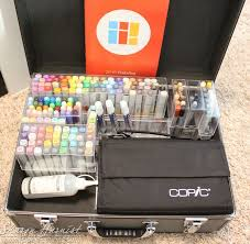 paperfections new copic marker case