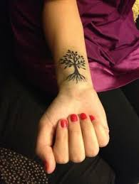 tree of small search tattoos