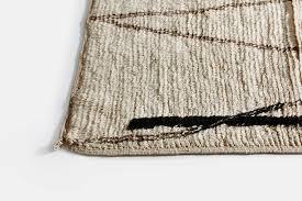 moroccan beni ourain style rug 6 x 6 u2013 the line