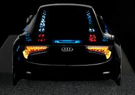 new automotive lighting technologies at ces 2013