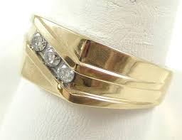 14k gold diamond v shaped ring favery solid 14k gold wic 3 ct high grade diamonds ring size 12 6 1g