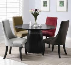 white black dining chair contemporary dining room tables black