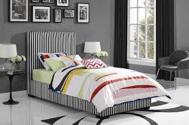 Preppy Bedroom Novogratz Novogratz Preppy Upholstered Platform Bed U0026 Reviews