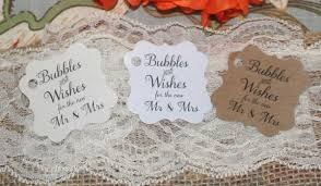 wedding bubbles bubbles and wishes for the new mr and mrs wedding favor