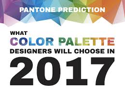 pantone color 2017 infographic pantone prediction of color palettes for designers in