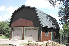 two story four garage buildings prefabricated by the amish photos