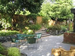 Backyard Cement Ideas Cement Patio Ideas Landscape Traditional With Backyard Concrete