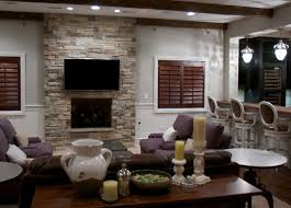 Stacked Stone Veneer Interior Dry Stack Stone Veneer Fireplace Traditional Living Room