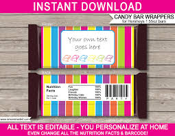 free hershey wrapper template 28 images blank bar wrapper