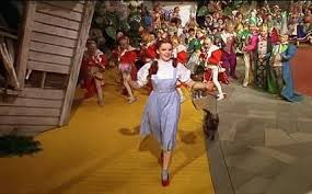 should dorothy follow the yellow brick road or clear up the