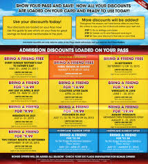 Six Flags Summer Pass Six Flags Season Pass Coupons Bring A Friends The Park Today