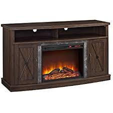 Amazon Fireplace Tv Stand by Amazon Com Ameriwood Home Brooklyn Electric Fireplace Tv Console