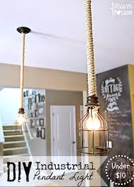 Chandeliers Under 50 by Diy Hanging Light With Best 25 Pendant Ideas On Pinterest