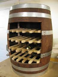 awesome hand crafted french oak wine barrel wine rack reclaimed