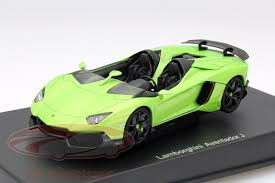 lamborghini green and black ck modelcars 54654 lamborghini aventador j roadster year 2012