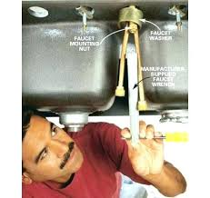 how to change a kitchen sink faucet installing moen kitchen sink faucet home and sink