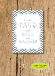 bridesmaids invite instant upload will you be my bridesmaid invite turquoise and