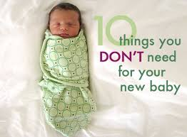 ten things you don t need to buy for your new baby babies