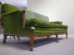 Tufted Vintage Sofa by Furniture Fabulous Green Velvet Sofa For Home Furniture Ideas