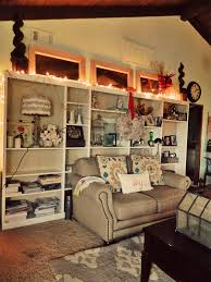 How To Decorate A Bookcase Easy Christmas Decorating Bookcase