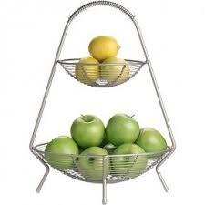 tiered fruit basket 2 tier wire fruit basket foter