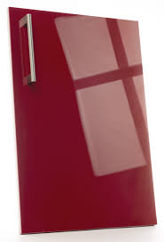 Gloss Red Kitchen Doors - what are kitchen cabinet doors made of