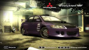 mitsubishi evo 8 wallpaper nfs most wanted mitsubishi lancer evolution viii car test youtube